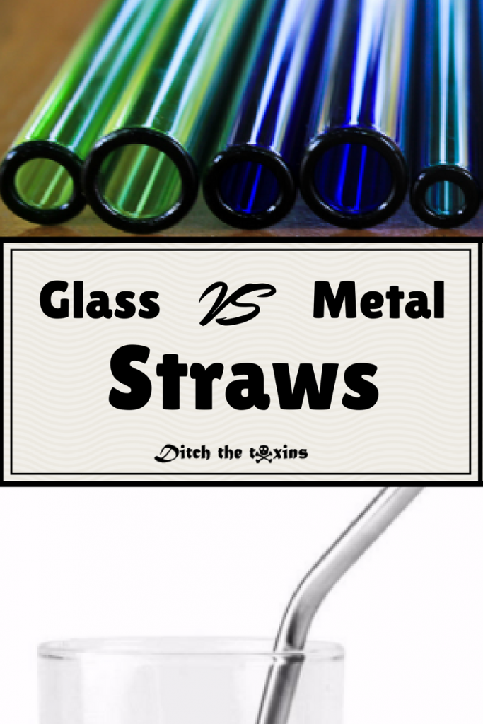 Metal Straws VS Glass Straws